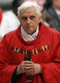 Ratzinger's heretical views are infallibly condemned in Venerable Pope Pius IX's Encyclical, Syllabus Errorum (The Syllabus of Errors