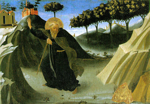 St. Anthony Abbot Lover of the Virtue of Poverty Ora Pro Nobis