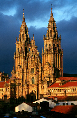 The Church of Santiago de Compostella, Spain